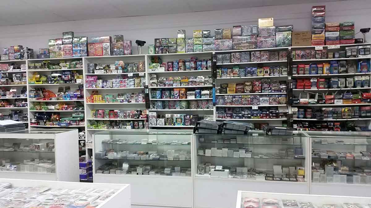 Image result for trading card shop